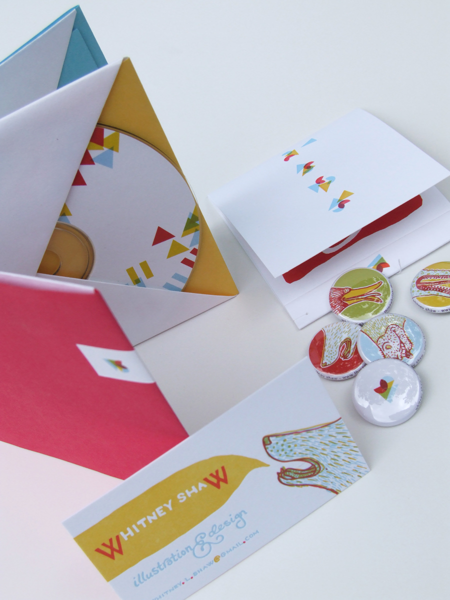 Business Card & Self Promotion Materials | Whitney Shaw ...