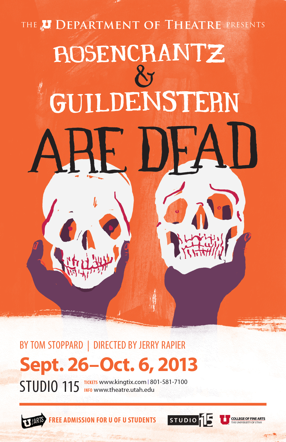 tom stoppards rosencrantz and guildenstern are dead essay Play theater - tom stoppard's rosencrantz and guildenstern are dead.